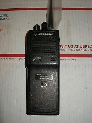 Motorola Mts2000 Uhf 450-512 Gmrs Wfree Programming 32 Channels
