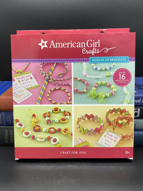 AMERICAN GIRL CRAFTS OODLES OF BRACELETS KIT NEW