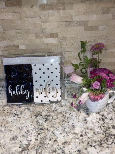 Hubby And Wifey Travel Wedding Bridal Passport Holders. Jade Deer. NWOT - $11.25