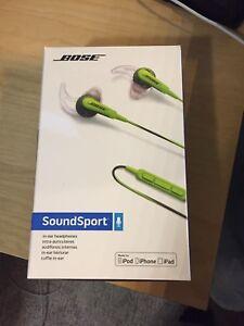 Nose sound sport earbuds