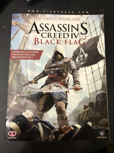 Assassins Creed Black Flag Complete Official Guide - Map Included  - $24.99