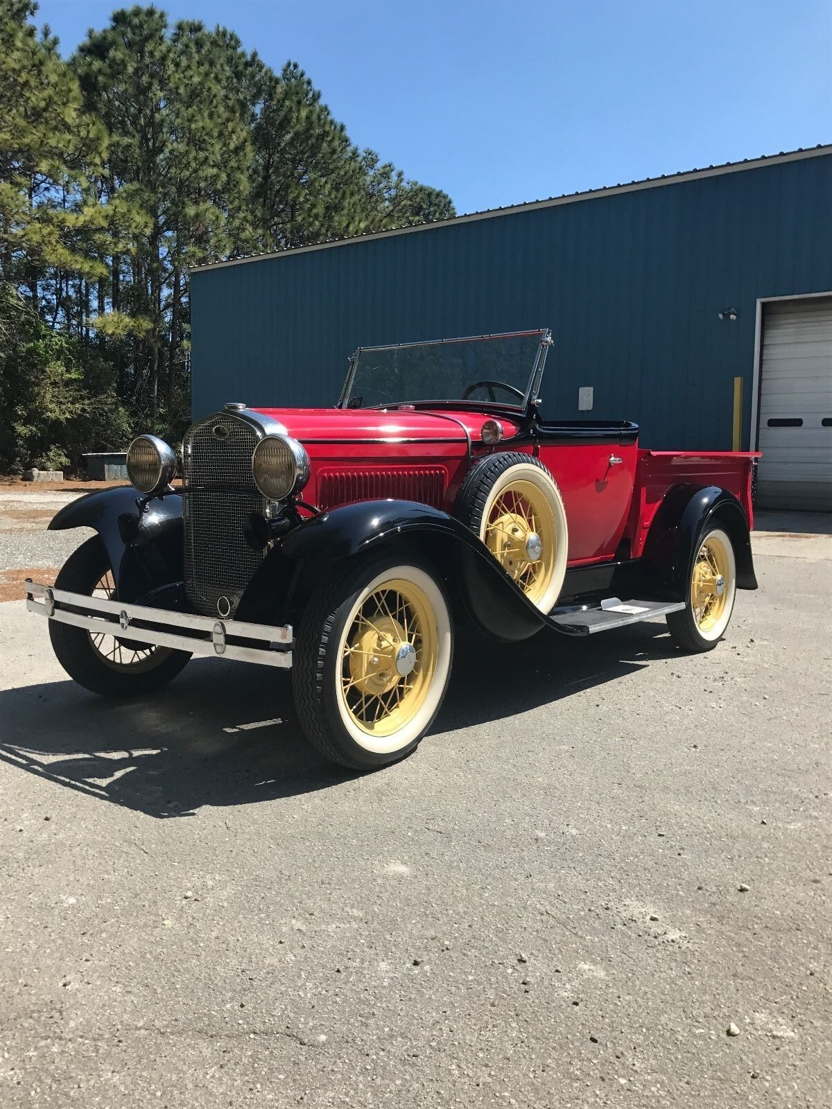 1931 Ford Model A  1931 ford model a roadster deluxe pickup truck