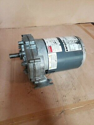 Dayton Gearmotor 14 Hp 115 V 30 Rpm 1lpp4 - Tested And Runs Quiet
