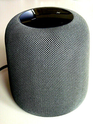 APPLE HOMEPOD SCHWARZ / GRAU LAUTSPRECHER BOX Siri Home Pod A1639 Space Grey