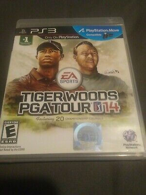 Tiger Woods PGA Tour 14 (Sony PlayStation 3, 2013)complete.