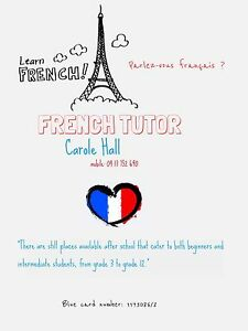 French Tutor Carole Hall in Townsville. Townsville Townsville City Preview