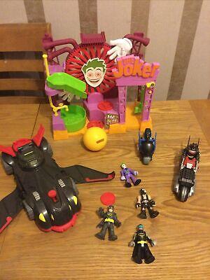 Imaginext Batman , Joker Bundle , Ninja Car, Bike , Bane ..