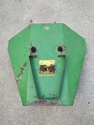 John Deere Model 27 Flail Shredder Gear Box Shield Ae36042 Whose Support E47495