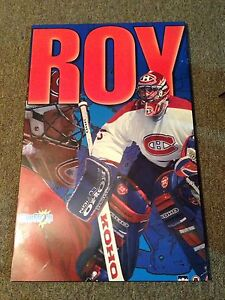 Montreal Canadiens Patrick Roy NHL hockey collectables