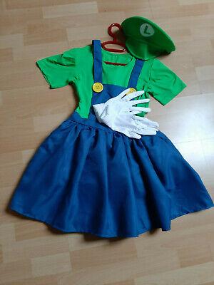 Super Mario Kostüm  Fasching Mädchen Damenkostüm Gr. - Super Mario Kostüme Mädchen