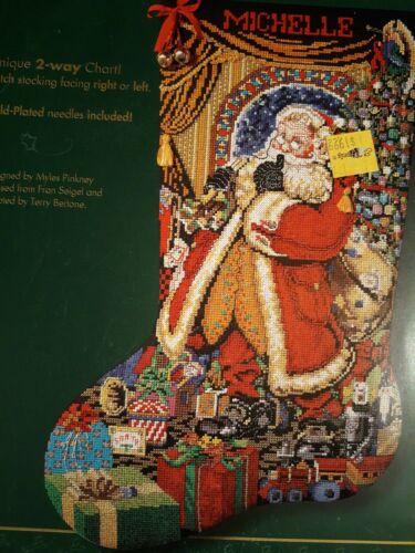 "Bucilla ""Christmas Presence"" Celebrations Santa Cross Stitch"