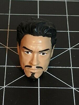 Marvel Legends Tony Stark Civil War 3 pack Head