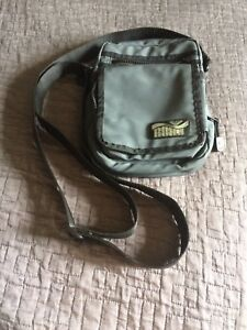 Grey Roxy crossbody purse