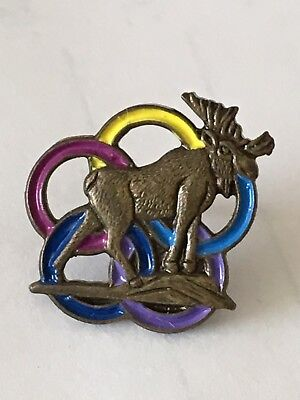 Anchorage Alaska Enamel Multi Colored USA Olympic 5 Rings Tac Pin Royal Order - Costumes Anchorage