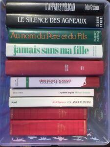 Collection de 10 romans