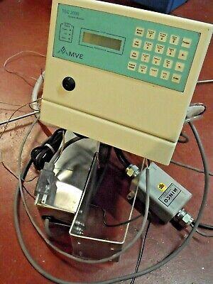 Tec 2000 Monitor From Mve Xlc 1840 Liquid Nitrogen Cryogenic Storage Tank