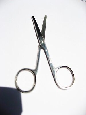 36pc Stainless Steel  Safety Scissors Eyebrow Ear Hair Nose Hair Trimmer Scissor for sale  Shipping to India