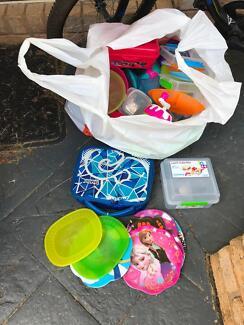 Free kitchen plastic items