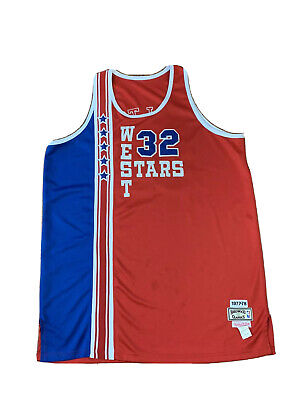 Bill Walton NBA All Star West Authentic Mitchell Ness Throwback jersey Sz 58