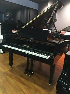 Yamaha C3M Grand Piano Polished Ebony - still under Warranty! Daw Park Mitcham Area Preview