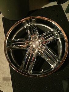 22'' chrome rims for sale