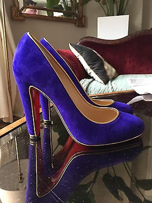 100% Authentic NEW Christian Louboutin LouLou Pumps 39 FW2016