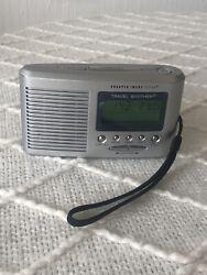 Sharper Image Design Travel Soother 20 Sound SI601 Alarm Clock/Sound Machine