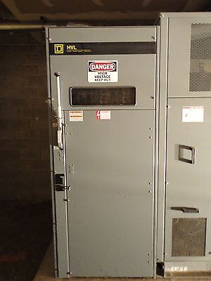 Sq D DELTA / DELTA  2000 Amp 4 Section Electrical SWITCH BOARD