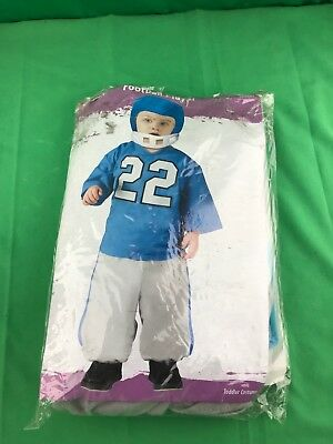 Football Player Child Costume Pants And Soft Helmet Funworld Toddler - Football Costume Toddler