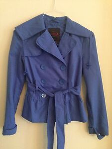 Pretty blue jacket worn once Size Small