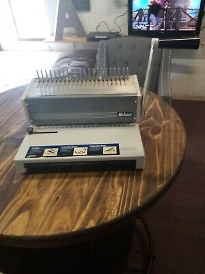 Ibico Ibimatic Industrial Metal Comb Binding Machine