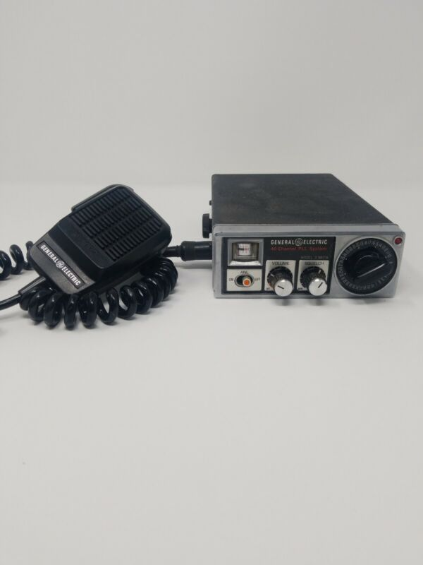 General Electric 40 Channel PLL System Model 3-5801A CB Transceiver