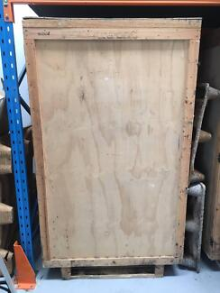 large wooden crate chest 2mx115 x115m freight u0026 storage 3 avail