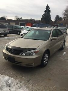 2002 Toyota Camry LE Good condition