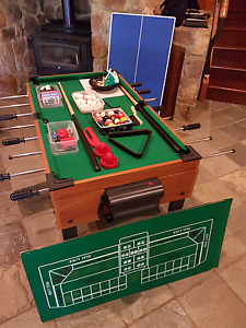 Pool table game board 10 in 1 Chidlow Mundaring Area Preview