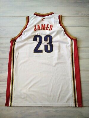 0877c1cd19d Lebron James Cleveland Cavaliers basketball jersey 2XL NBA Champion