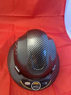 Vented Full Brim Hard Hat Construction Work Safety Helmet Cool Vents Breathable