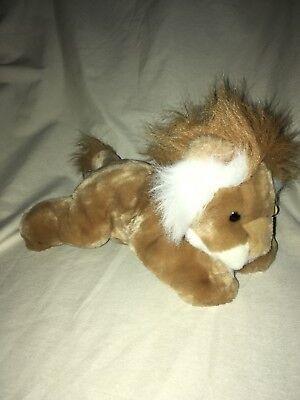 Kohls Cares Small Lion Dge Corp Plush Nwt Stuffed Animal Brown Laying