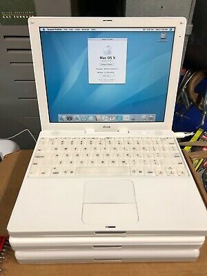Apple iBook G3 800Mhz 256mb Ram 30gb HDD Battery Holds Charge!