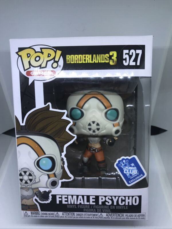 Vinyle personnage Borderlands 3-Female Psycho Gamestop Exclusive 527-Funko Pop!