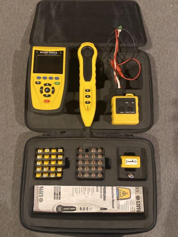 Klein Tools VDV501-829 VDV Commander Test and Tone Kit w/ Tone Cube