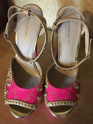 kurt geiger ladies shoes size 5/38
