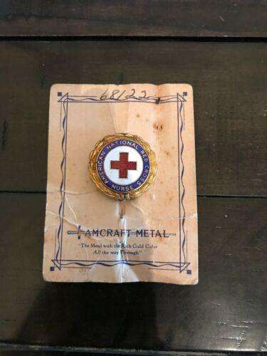 American National Red Cross Nurse Pin - Vintage