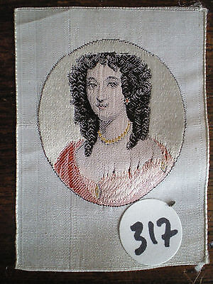 Very Rare Silk Tisse Medallion Woman 317