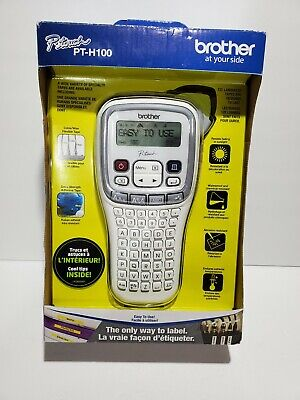 Brother P-touch Pt-h100 Label Thermal Printer New
