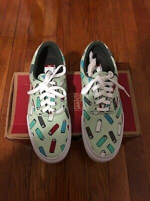 Vans off the wall light green lighters low