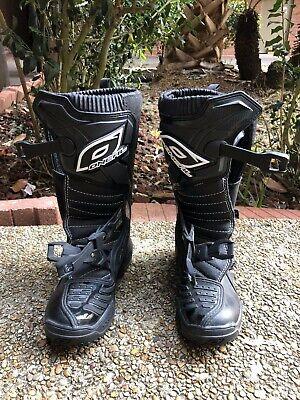 O'NEAL WOMEN'S RIDER BOOTS MX DIRT BIKE MOTOCROSS BLACK PINK OFF ROAD ATV UTV Womens Motocross Boots