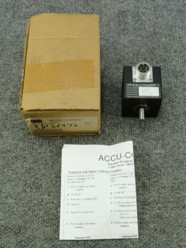 New Unused ACCU-Coder 716-S Incremental Shaft Encoder