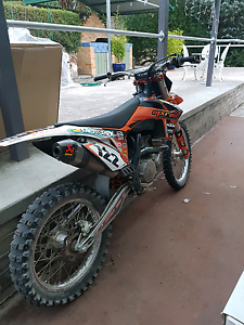 Ktm 450sxf 2011 swap Cambridge Clarence Area Preview