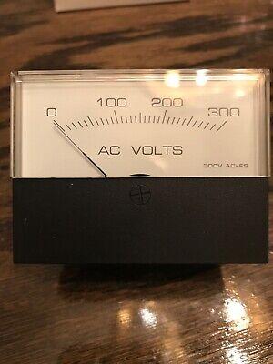 Hoyt St-75 Ac 300v Volt Meter